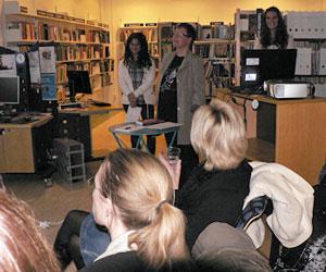 SkrivarSidan på Alviks bibliotek