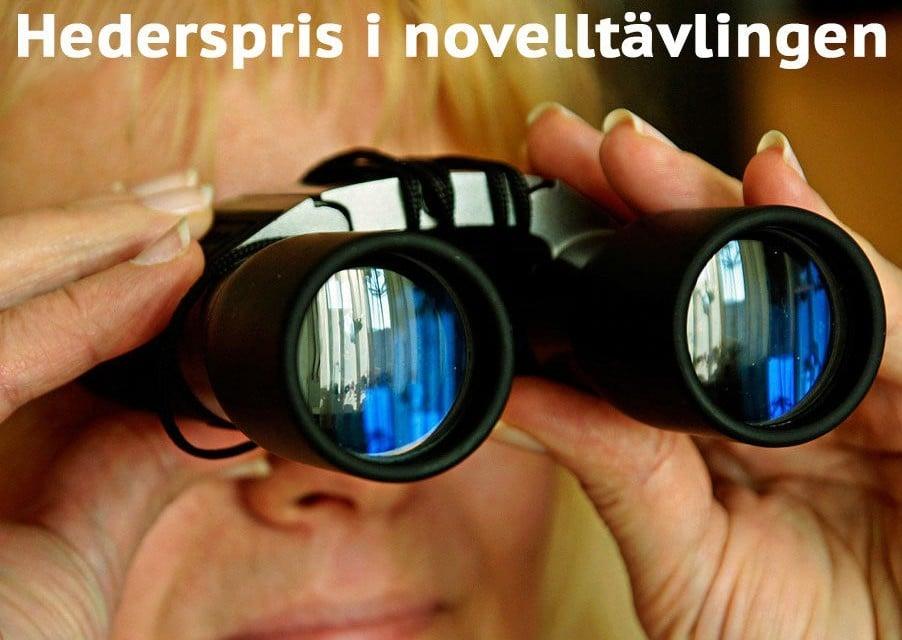 Observatören – hederspris novelltävlingen 2017