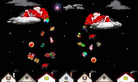 Skriv humoristiskt om jultomten