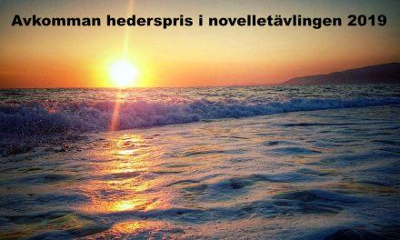 Avkomman – hederspris novelltävlingen 2019