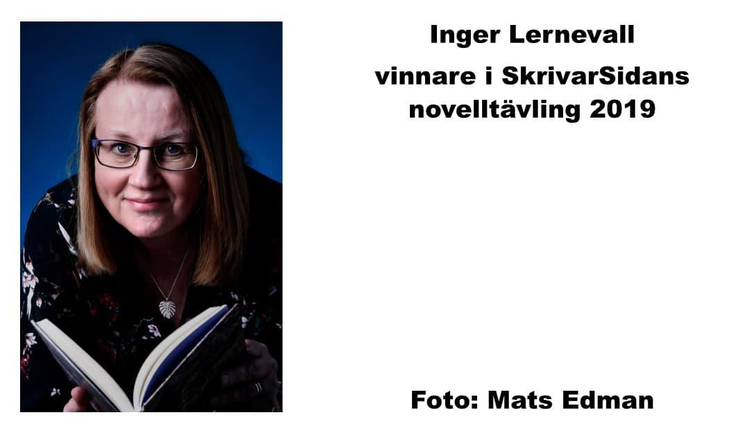 Intervju med Inger Lernevall – 1:a i novelltävlingen 2019