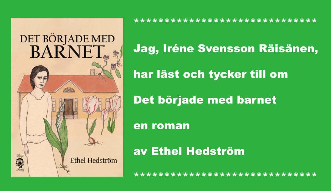 Det börjar med barnet av Ethel Hedström