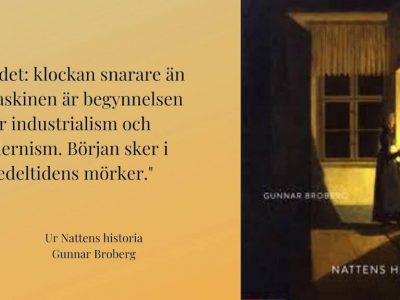 Nattens historia av Gunnar Broberg